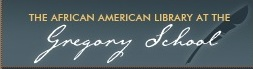 af_amer_library_at_gregory_school_logo